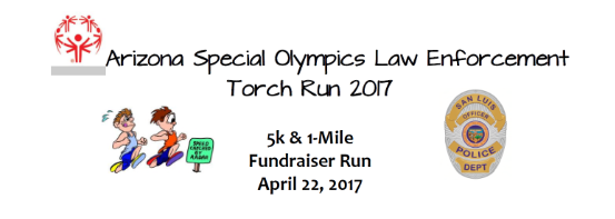 5k torch run fundraiser