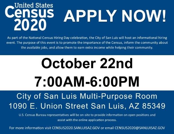 National Census Hiring Day