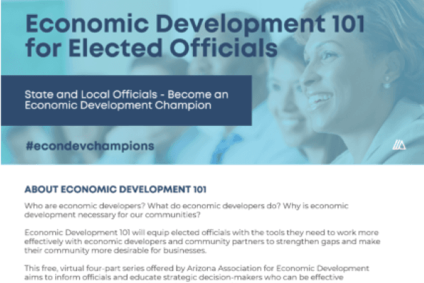 Economic Development 101 for Elected Officials