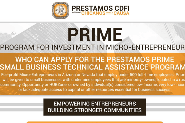 Prestamos Business Assistance Program.